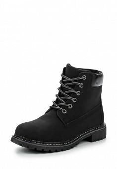 Ботинки, Queen Vivi, цвет: черный. Артикул: QU004AWNHY42. Женская обувь / Ботинки