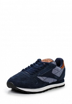 Кроссовки, Reebok Classics, цвет: синий. Артикул: RE005AUQJI37. Женская обувь / Кроссовки и кеды / Кроссовки