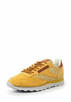 Кроссовки, Reebok Classics, цвет: желтый. Артикул: RE005AUQJI46. Женская обувь / Кроссовки и кеды / Кроссовки