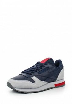 Кроссовки, Reebok Classics, цвет: синий. Артикул: RE005AUQJI57. Женская обувь / Кроссовки и кеды / Кроссовки