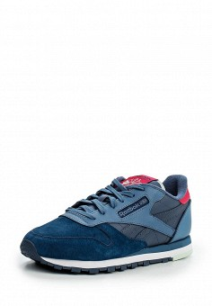 Кроссовки, Reebok Classics, цвет: синий. Артикул: RE005AWLWY03. Женская обувь / Кроссовки и кеды / Кроссовки