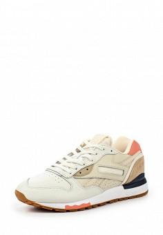 Кроссовки, Reebok Classics, цвет: бежевый. Артикул: RE005AWQJI78. Женская обувь / Кроссовки и кеды / Кроссовки