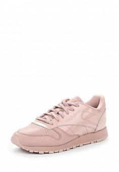 Кроссовки, Reebok Classics, цвет: розовый. Артикул: RE005AWUOZ83. Женская обувь / Кроссовки и кеды / Кроссовки