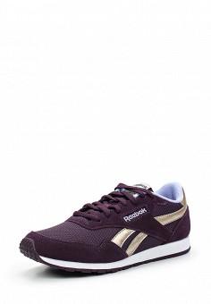 Кроссовки, Reebok Classics, цвет: фиолетовый. Артикул: RE005AWUYF26. Женская обувь / Кроссовки и кеды / Кроссовки
