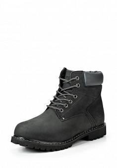 Ботинки, Reflex, цвет: черный. Артикул: RE024AMDGJ22. Мужская обувь / Ботинки и сапоги