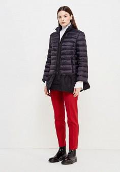 Пуховик, Red Valentino, цвет: черный. Артикул: RE025EWTDE55. Женская одежда / Верхняя одежда / Пуховики и зимние куртки