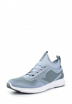 Кроссовки, Reebok, цвет: голубой. Артикул: RE160AWQJV72. Женская обувь / Кроссовки и кеды