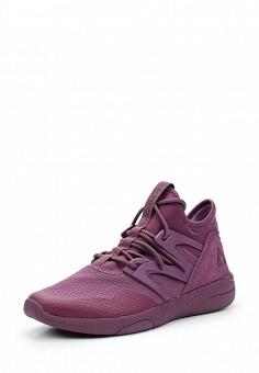 Кроссовки, Reebok, цвет: фиолетовый. Артикул: RE160AWUPR26. Женская обувь / Кроссовки и кеды