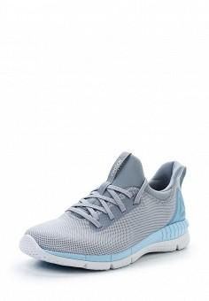 Кроссовки, Reebok, цвет: серый. Артикул: RE160AWUPR43. Женская обувь / Кроссовки и кеды