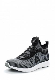 Кроссовки, Reebok, цвет: серый. Артикул: RE160AWUPR48. Женская обувь / Кроссовки и кеды