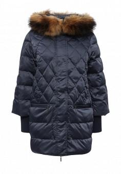 Куртка утепленная, Savage, цвет: синий. Артикул: SA004EWLPC75. Женская одежда / Верхняя одежда / Пуховики и зимние куртки