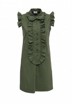 Платье, Sonia by Sonia Rykiel, цвет: зеленый. Артикул: SO018EWRIU44. Женская одежда / Платья и сарафаны / Летние платья
