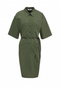 Платье, Sonia by Sonia Rykiel, цвет: хаки. Артикул: SO018EWRIU67. Женская одежда / Платья и сарафаны / Летние платья