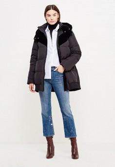 Пуховик, Sportmax Code, цвет: черный. Артикул: SP027EWTMG79. Женская одежда / Верхняя одежда / Пуховики и зимние куртки