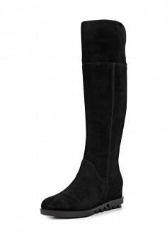 Ботфорты, Sparkling, цвет: черный. Артикул: SP315AWLBW42. Женская обувь / Сапоги