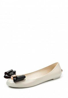 Балетки, Ted Baker London, цвет: белый. Артикул: TE019AWQLR60. Премиум / Обувь / Балетки