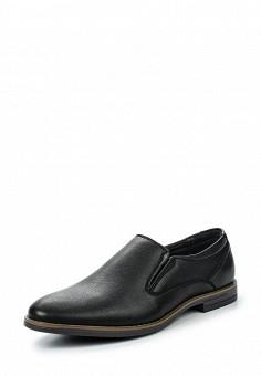 Лоферы, Tesoro, цвет: черный. Артикул: TE947AMQCH17. Мужская обувь / Туфли / Лоферы
