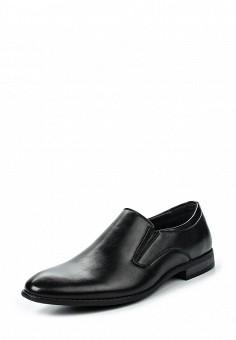 Лоферы, Tesoro, цвет: черный. Артикул: TE947AMQCI34. Мужская обувь / Туфли / Лоферы
