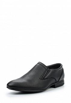 Лоферы, Tesoro, цвет: черный. Артикул: TE947AMQCJ01. Мужская обувь / Туфли / Лоферы