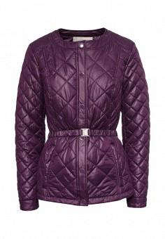 Куртка утепленная, Time For Future, цвет: фиолетовый. Артикул: TI016EWRJE27. Женская одежда / Верхняя одежда / Демисезонные куртки