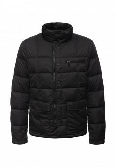 Пуховик, Tom Farr, цвет: черный. Артикул: TO005EMMSB59. Мужская одежда / Верхняя одежда