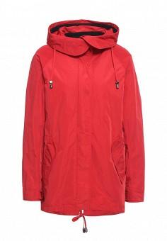 Парка, Tom Farr, цвет: красный. Артикул: TO005EWRSV42. Женская одежда / Верхняя одежда / Парки