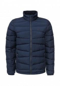 Пуховик, Tommy Hilfiger Denim, цвет: синий. Артикул: TO013EMNSJ27. Мужская одежда / Верхняя одежда / Пуховики и зимние куртки