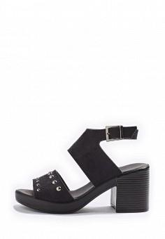 Босоножки, Topshop, цвет: черный. Артикул: TO029AWRUN44. Женская обувь / Босоножки