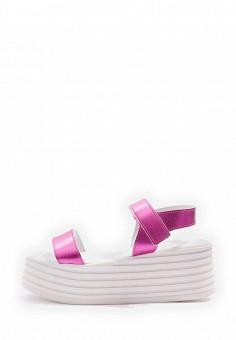 Босоножки, Topshop, цвет: фуксия. Артикул: TO029AWTQX31. Женская обувь / Босоножки