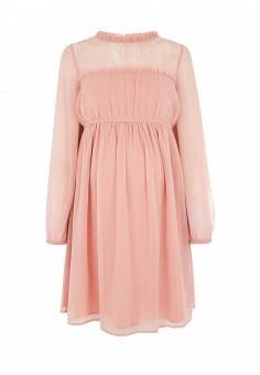 Платье, Topshop Maternity, цвет: розовый. Артикул: TO039EWSIO34. Женская одежда / Платья и сарафаны / Летние платья