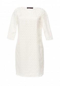 Платье, Trussardi Jeans, цвет: белый. Артикул: TR016EWOOP72. Женская одежда