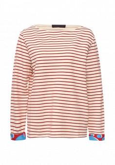 Лонгслив, Trussardi Jeans, цвет: красный. Артикул: TR016EWOOP80. Женская одежда