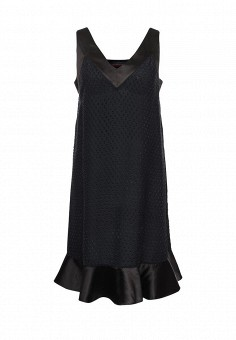 Платье, Trussardi Jeans, цвет: синий. Артикул: TR016EWOOP92. Женская одежда