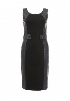Платье, Trussardi Jeans, цвет: синий. Артикул: TR016EWPBR28. Женская одежда