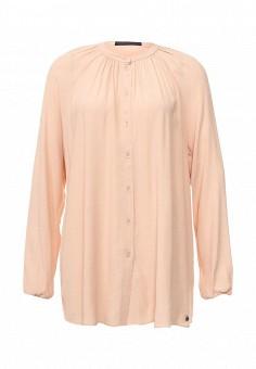 Туника, Trussardi Jeans, цвет: бежевый. Артикул: TR016EWPBR29. Женская одежда