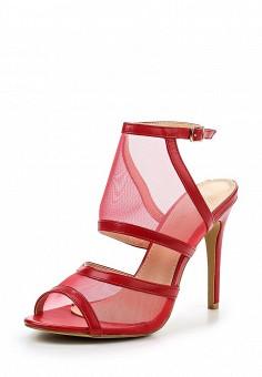 Босоножки, Tulipano, цвет: красный. Артикул: TU005AWSSH83. Женская обувь / Босоножки