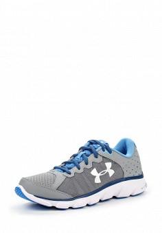 Кроссовки, Under Armour, цвет: серый. Артикул: UN001AWOJA90. Женская обувь / Кроссовки и кеды