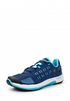 Кроссовки, Under Armour, цвет: синий. Артикул: UN001AWTVL16. Женская обувь / Кроссовки и кеды