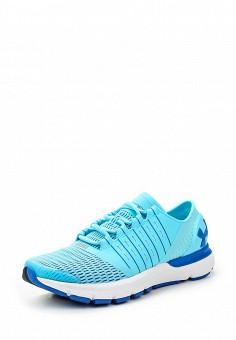 Кроссовки, Under Armour, цвет: голубой. Артикул: UN001AWTVL24. Женская обувь / Кроссовки и кеды