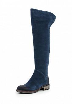 Ботфорты, Valley, цвет: синий. Артикул: VA013AWLNC65. Женская обувь / Сапоги