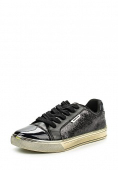Кеды, Versace Jeans, цвет: черный. Артикул: VE006AWJYW36. Женщинам / Обувь / Кроссовки и кеды