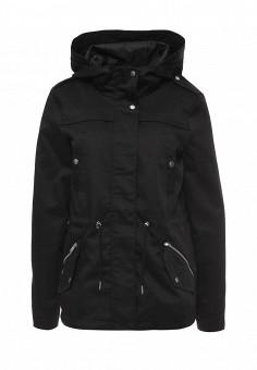 Парка, Vero Moda, цвет: черный. Артикул: VE389EWOHB79. Женская одежда / Верхняя одежда / Парки