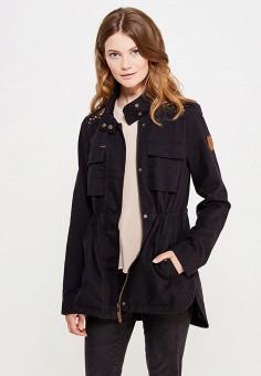 Парка, Vero Moda, цвет: черный. Артикул: VE389EWUJN80. Женская одежда / Верхняя одежда / Парки