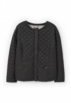 Куртка утепленная, Violeta by Mango, цвет: черный. Артикул: VI005EWOUO73. Женская одежда / Верхняя одежда / Демисезонные куртки