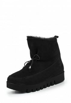 Полусапоги, Vitacci, цвет: черный. Артикул: VI060AWNGD40. Женская обувь / Сапоги