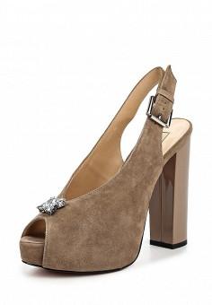 Босоножки, Vitacci, цвет: коричневый. Артикул: VI060AWPTS02. Женская обувь / Босоножки