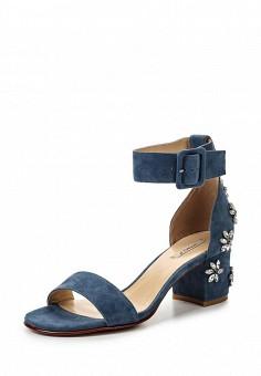 Босоножки, Vitacci, цвет: синий. Артикул: VI060AWPTS21. Женская обувь / Босоножки