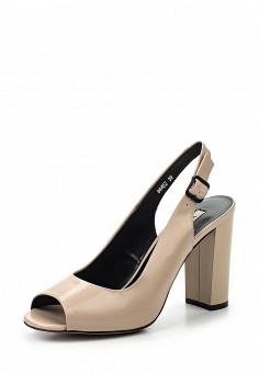 Босоножки, Vitacci, цвет: бежевый. Артикул: VI060AWPTW24. Женская обувь / Босоножки