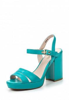 Босоножки, Vitacci, цвет: бирюзовый. Артикул: VI060AWPTW94. Женская обувь / Босоножки