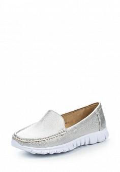 Мокасины, Wilmar, цвет: серебряный. Артикул: WI064AWRCE13. Женская обувь / Мокасины и топсайдеры